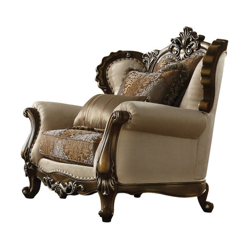 Latisha Arm Chair (with 2 Pillows)-Accent Chair-ACME-52117-ModLux_Living_furniture