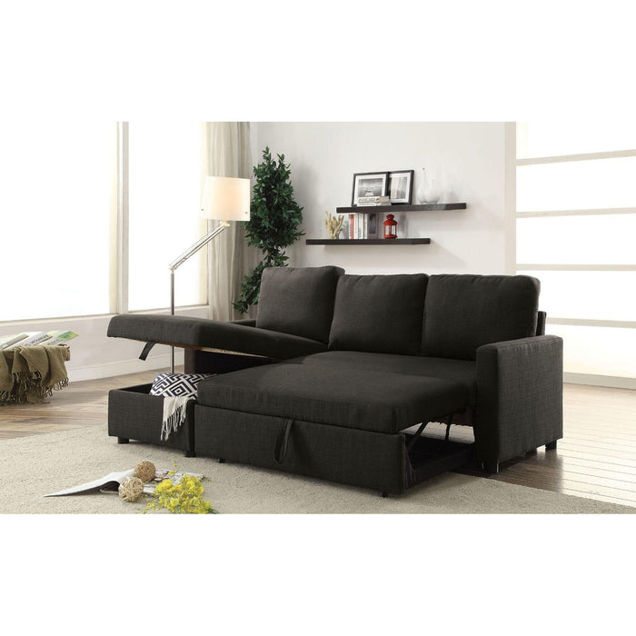 Hiltons Sectional Sofa with Sleeper & Storage-Sectional-ACME-52300-ModLux_Living_furniture