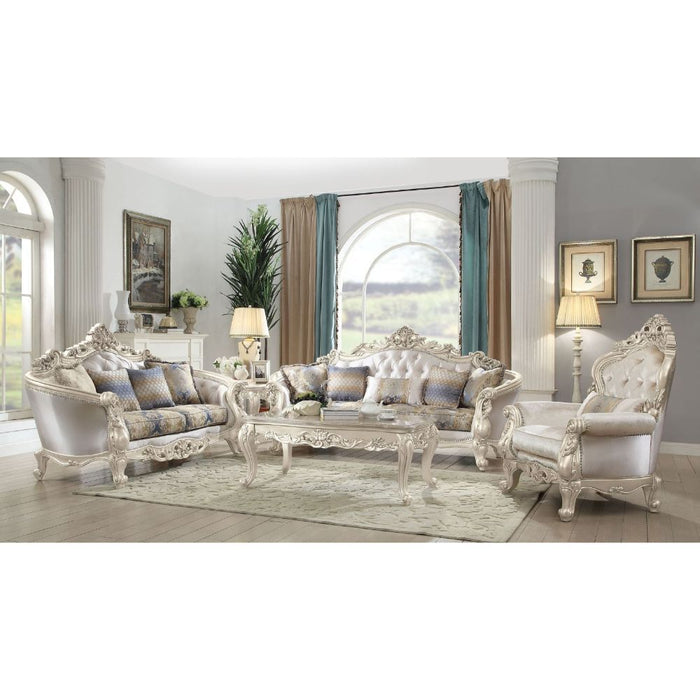 Gorsedd Sofa (with 5 Pillows)-Sofa-ACME-52440-ModLux_Living_furniture