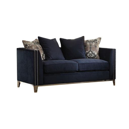 Phaedra Loveseat (with 4 Pillows)-Loveseat-ACME-52831-ModLux_Living_furniture