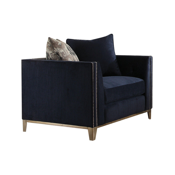 Phaedra Arm Chair (with 2 Pillows)-Accent Chair-ACME-52832-ModLux_Living_furniture