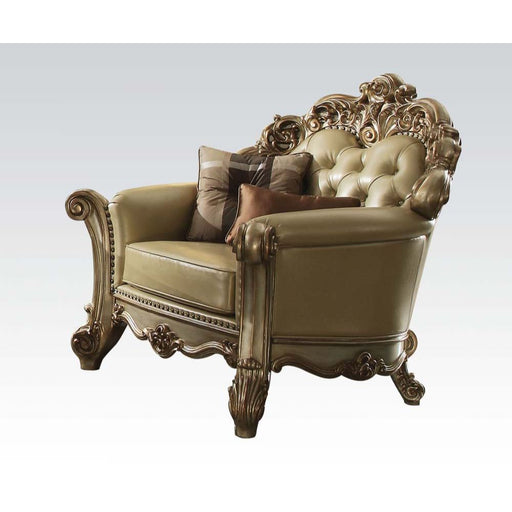Vendome Chair with Pillow-Accent Chair-ACME-53002-ModLux_Living_furniture