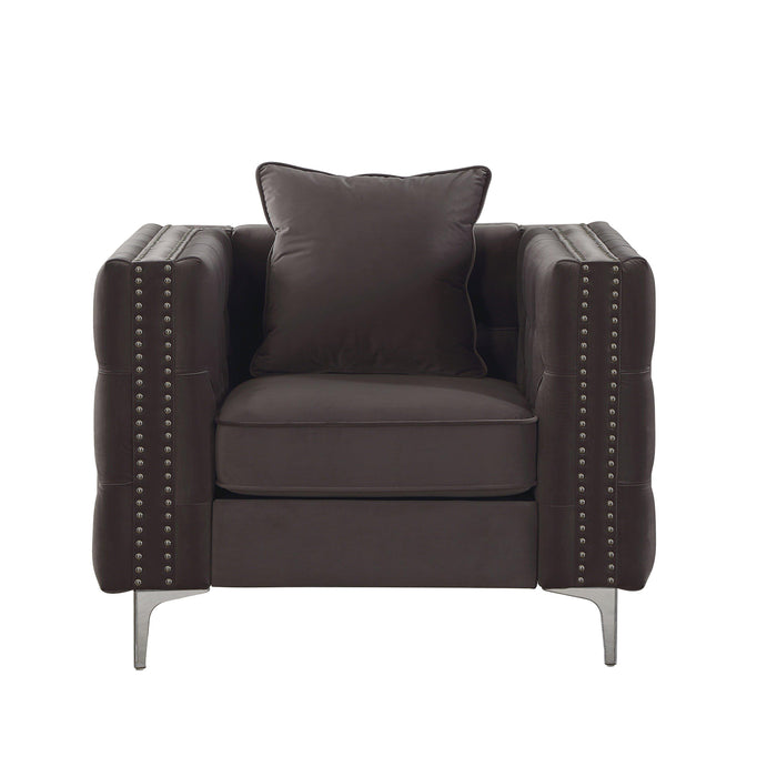 Gillian II Chair (with 1 Pillow)-Accent Chair-ACME-53389-ModLux_Living_furniture