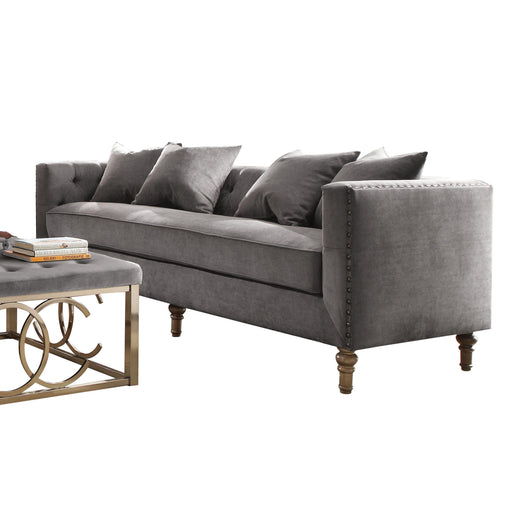 Sidonia Sofa (with 4 Pillows)-Sofa-ACME-53580-ModLux_Living_furniture