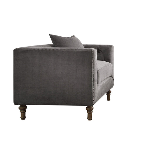 Sidonia Arm Chair (with 1 Pillow)-Accent Chair-ACME-53582-ModLux_Living_furniture