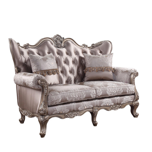 Jayceon Loveseat with 2 Pillows-Loveseat-ACME-54866-ModLux_Living_furniture