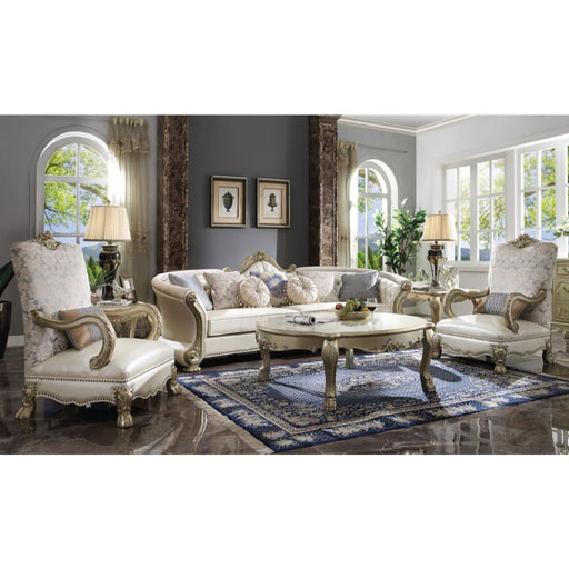 Dresden II Sofa (with 7 Pillows)-Sofa-ACME-54875-ModLux_Living_furniture