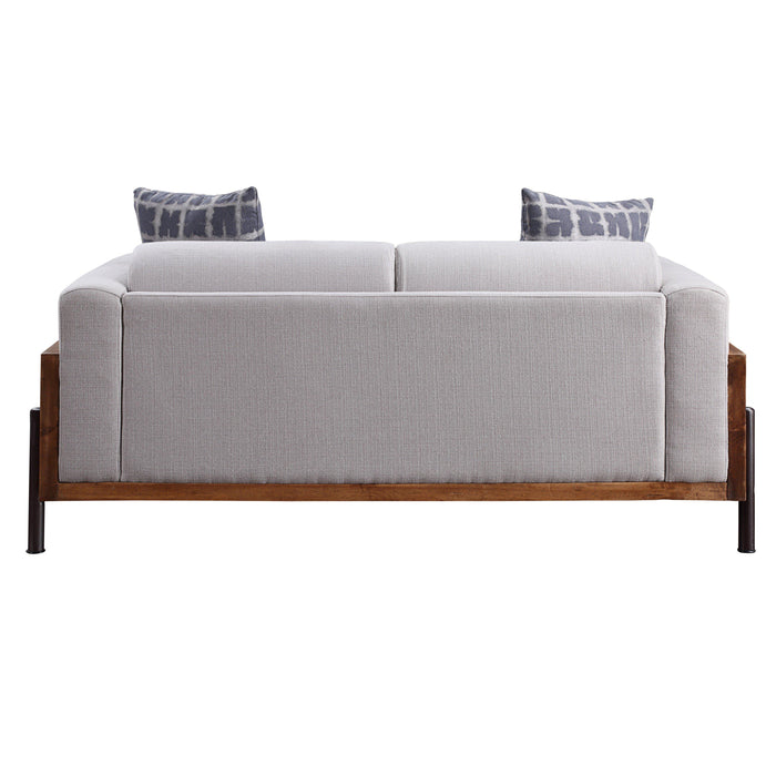 Pelton Loveseat with Pillows-Loveseat-ACME-54891-ModLux_Living_furniture