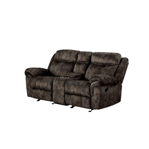 Zubaida Loveseat with USB Dock & Console (Glider & Motion)-Loveseat-ACME-ModLux_Living_furniture