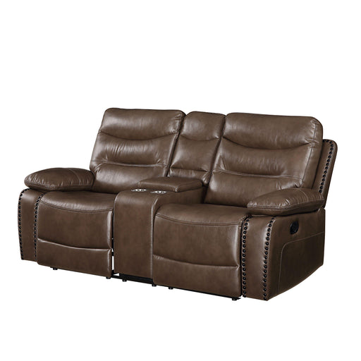 Aashi Loveseat with Console (Motion)-Loveseat-ACME-55421-ModLux_Living_furniture