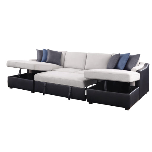 Merill Sectional Sofa with Sleeper-Sectional-ACME-56015-ModLux_Living_furniture