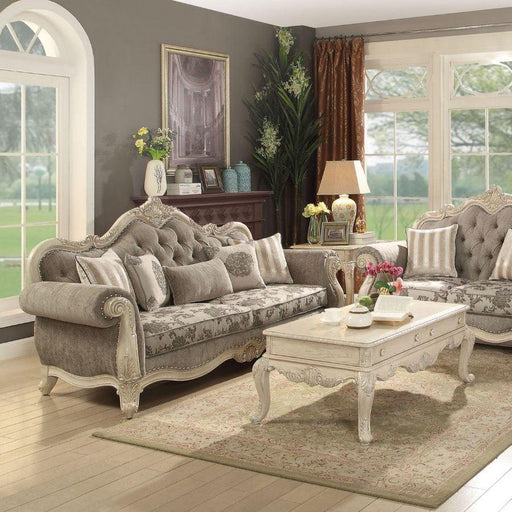 Ragenardus Sofa (with 5 Pillows)-Sofa-ACME-56020-ModLux_Living_furniture