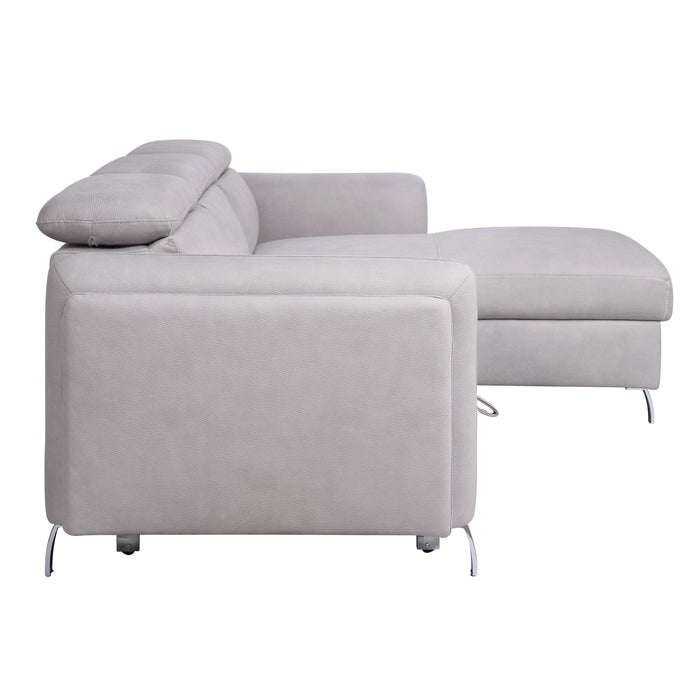 Reyes Sectional Sofa with Sleeper-Sectional-ACME-56040-ModLux_Living_furniture