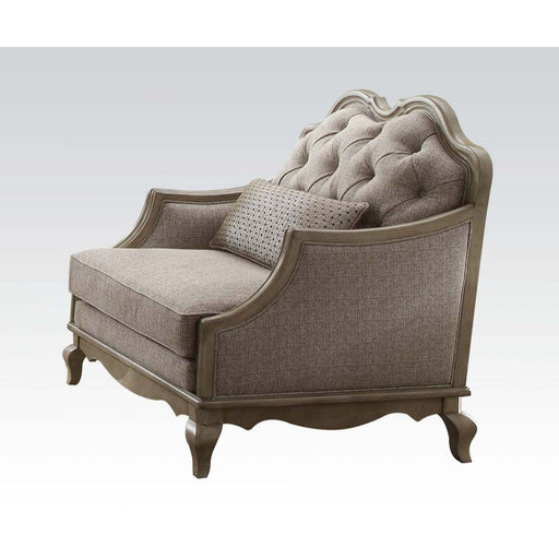 Chelmsford Chair (with 1 Pillow)-Accent Chair-ACME-56052-ModLux_Living_furniture