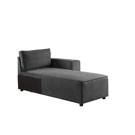 Silvester Modular Chaise with 2 Pillows-Sectional-ACME-56875-ModLux_Living_furniture