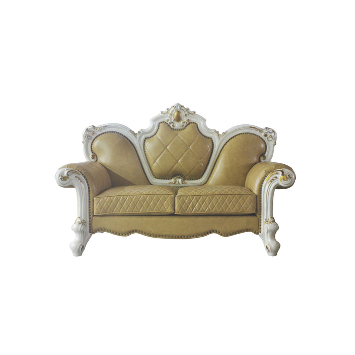 Picardy Loveseat with 3 Pillows-Loveseat-ACME-58211-ModLux_Living_furniture