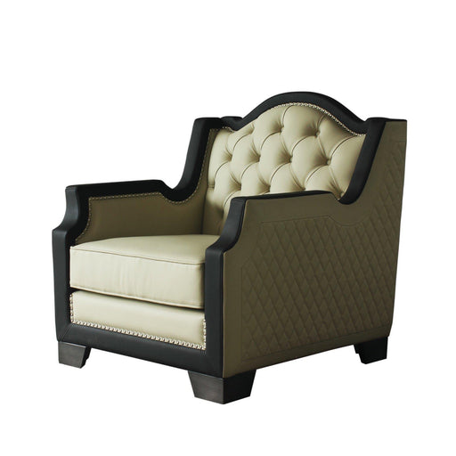 House Beatrice Arm Chair with Pillow-Accent Chair-ACME-58812-ModLux_Living_furniture