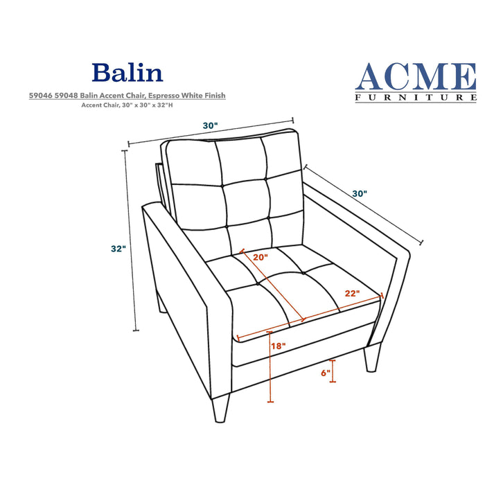 Balin Accent Chair-Accent Chair-ACME-ModLux_Living_furniture