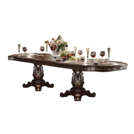 Vendome Dining Table with Double Pedestal-Dining Table-ACME-62000-ModLux_Living_furniture