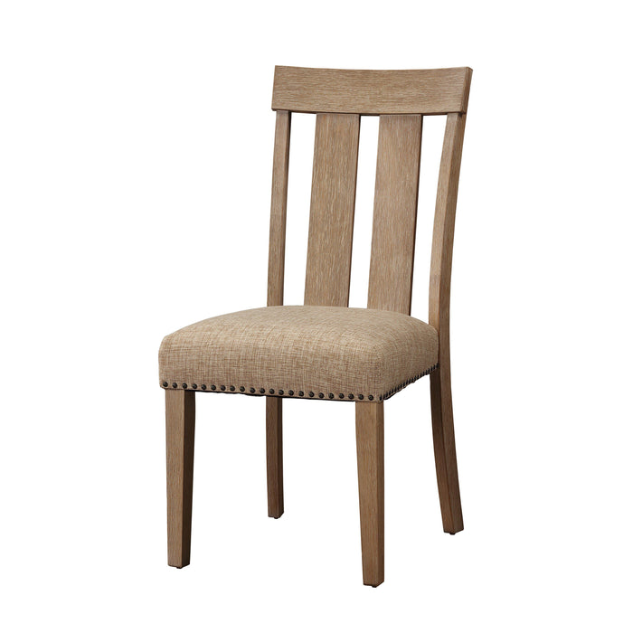 Nathaniel Side Chair, Slatted Back (Set of 2)-Dining Chair-ACME-62332-ModLux_Living_furniture