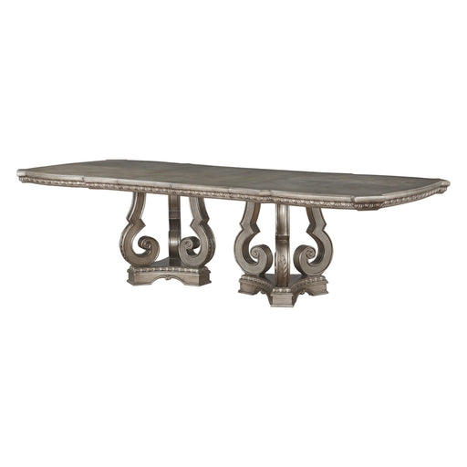 Northville Dining Table with Double Pedestal-Dining Table-ACME-66920-ModLux_Living_furniture