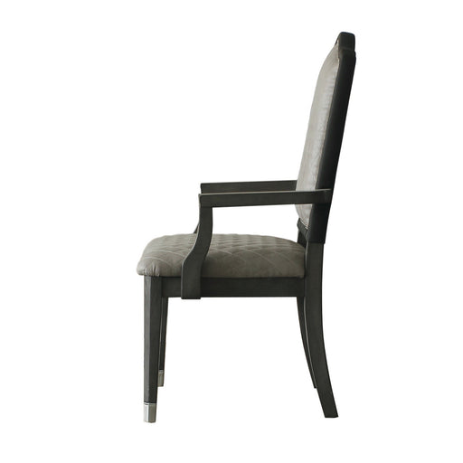House Beatrice Arm Chair (Set-2)-Dining Chair-ACME-68813-ModLux_Living_furniture