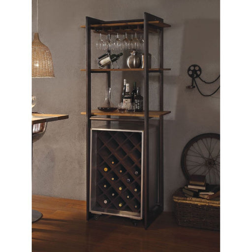Brancaster Stemware/Wine Rack-Baker's Rack-ACME-70436-ModLux_Living_furniture