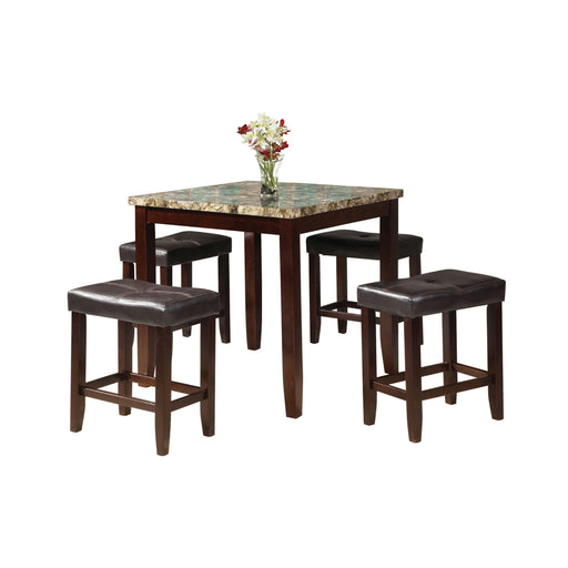 Rolle 5Pc Pk Counter Height Set-Bar Table-ACME-71090-ModLux_Living_furniture