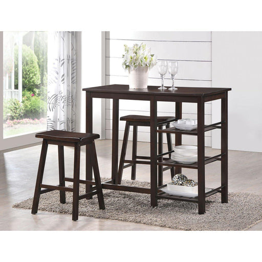 Nyssa 3Pc Pk Counter Height Set-Bar Table-ACME-73050-ModLux_Living_furniture