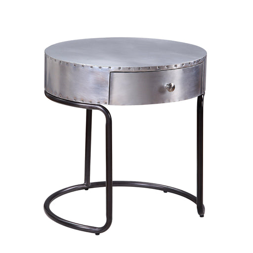 Brancaster End Table with Drawer-End Table-ACME-84882-ModLux_Living_furniture
