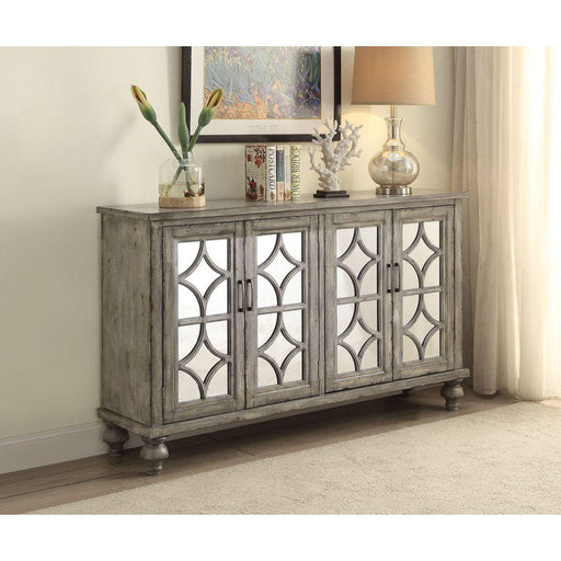 Velika Console Table (4 Door)-Console-ACME-90280-ModLux_Living_furniture