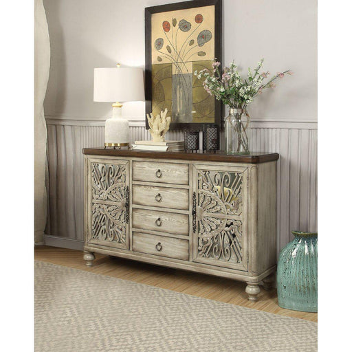 Vermont Console Table (2 Door/4 Drawers)-Console-ACME-90288-ModLux_Living_furniture