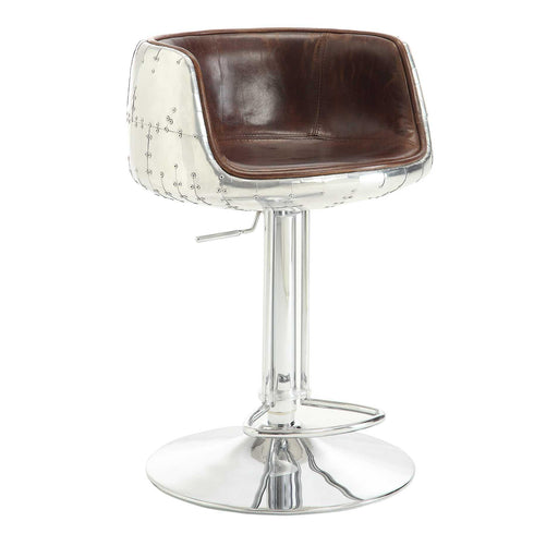 Brancaster Adjustable Stool with Swivel (1Pc)-Barstool-ACME-96555-ModLux_Living_furniture