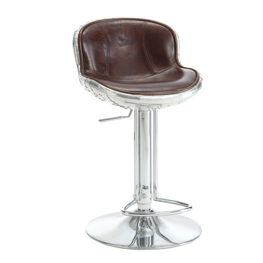Brancaster Adjustable Stool with Swivel (1Pc)-Barstool-ACME-96556-ModLux_Living_furniture