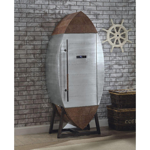 Brancaster Wine Cooler Cabinet-Wine Cabinet-ACME-97195-ModLux_Living_furniture