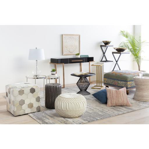 Surya Trail TLPF-001 Pouf-Pouf-Surya-TLPF-001-ModLux_Living_furniture