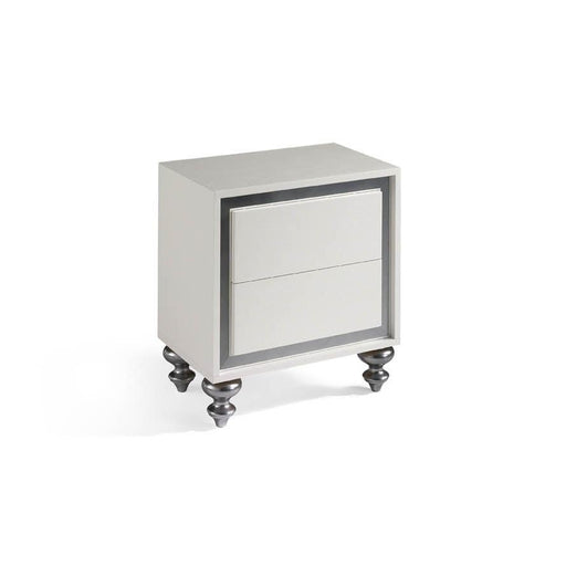 Alba Night Stand-Nightstand-J&M-176241-NS-ModLux_Living_furniture