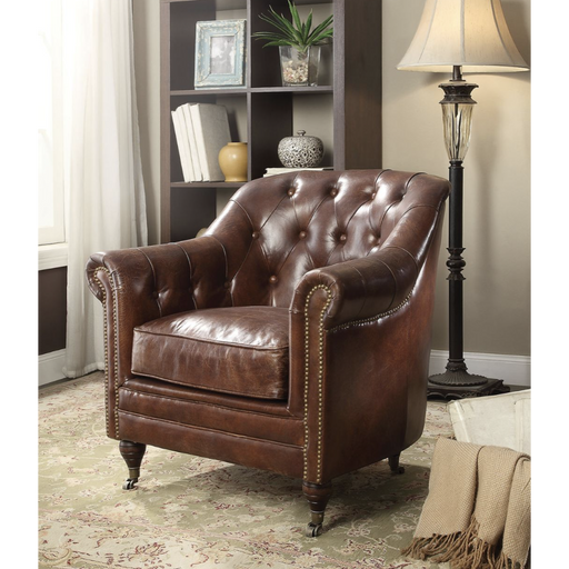 Aberdeen Leather Chair-Accent Chair-ACME-53627-ModLux_Living_furniture