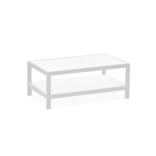 Angelina Coffee Table-Outdoor Coffee Table-Whiteline-CT1594-WHT-ModLux_Living_furniture