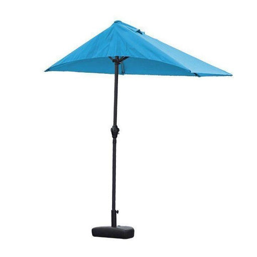 Asher Side Wall Umbrella (Blue)-Umbrella-Whiteline-UM1696-BLU-ModLux_Living_furniture