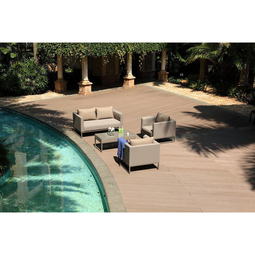 Belmont Indoor/Outdoor Living Collection (Taupe)-Outdoor Set-Whiteline-COL1569-TAU-ModLux_Living_furniture
