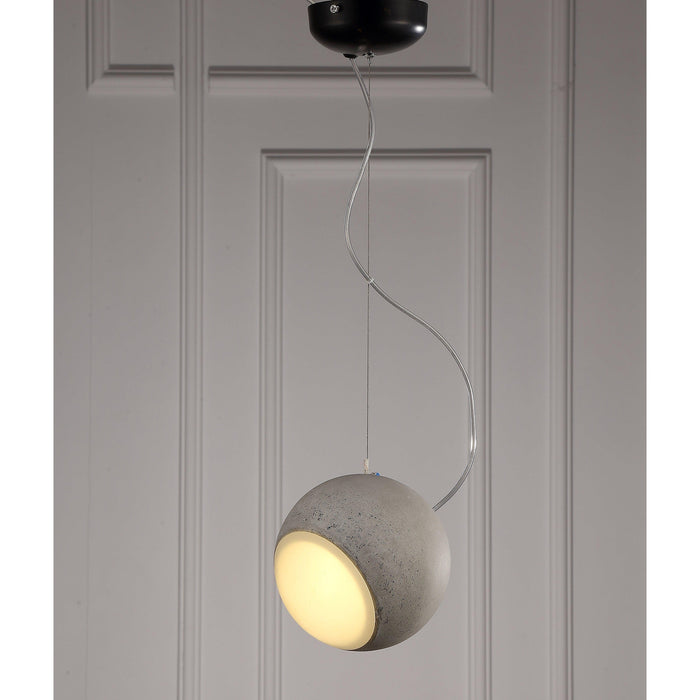 Brody Pendant Lamp-Pendant-Whiteline-PL1488-CMT-ModLux_Living_furniture