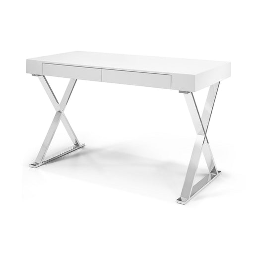 Elm Desk - Large-Desk-Whiteline-DK1205L-WHT-ModLux_Living_furniture