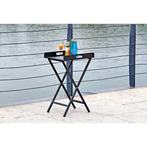 Kai Indoor/Outdoor Tray/Side Table-Outdoor Side Table-Whiteline-ST1602-GRY-ModLux_Living_furniture