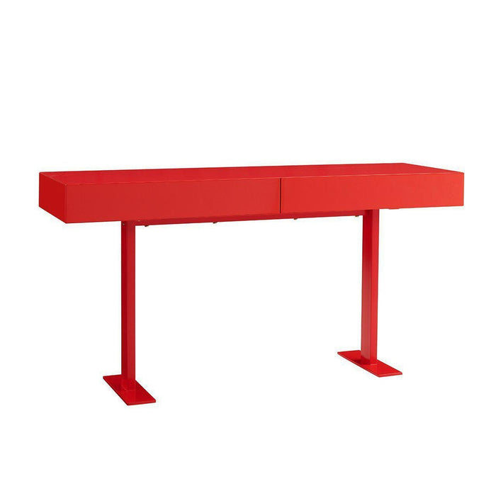 Liam Console (Red)-Console-Whiteline-CO1646-RED-ModLux_Living_furniture