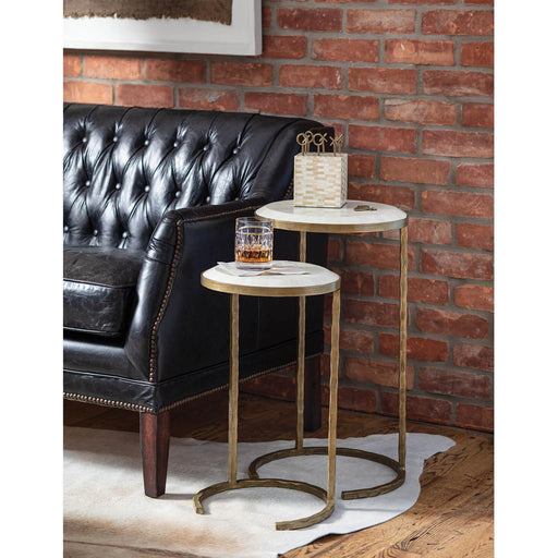 Regina Andrew Bone Veneer Nesting Tables-Side Table-Regina Andrew-ModLux_Living_furniture