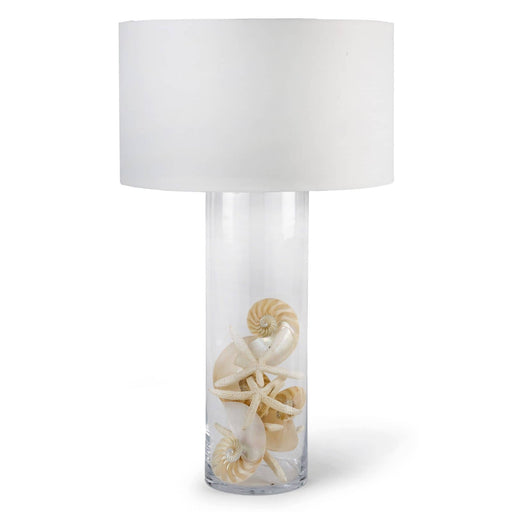 Regina Andrew Glass Cylinder Table Lamp-Table Lamp-Regina Andrew-13-1068-ModLux_Living_furniture