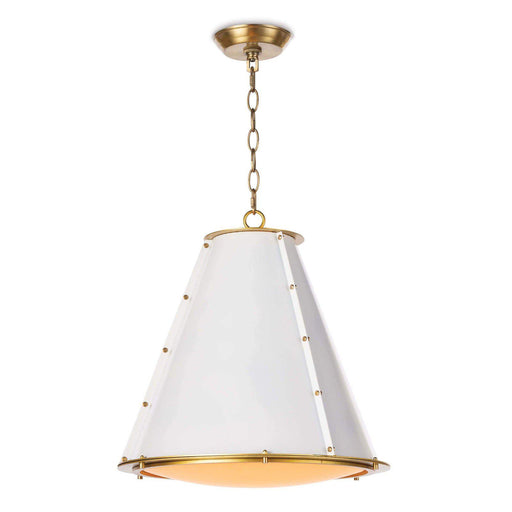 Regina Andrew French Maid Chandelier (Small)-Ceiling Fixtures-Regina Andrew-16-1220WT-ModLux_Living_furniture