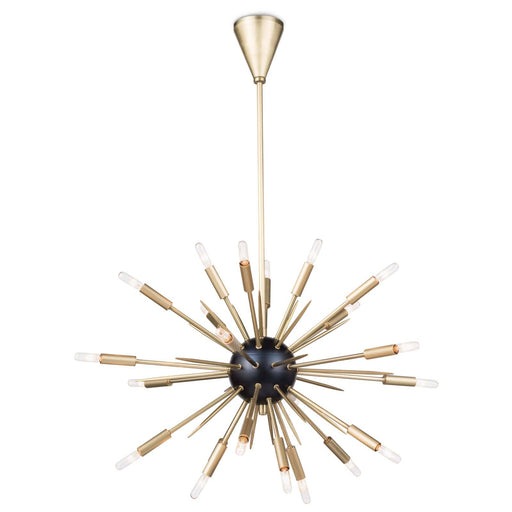 Regina Andrew Nebula Chandelier (Small)-Ceiling Fixtures-Regina Andrew-16-1114BLKNB-ModLux_Living_furniture