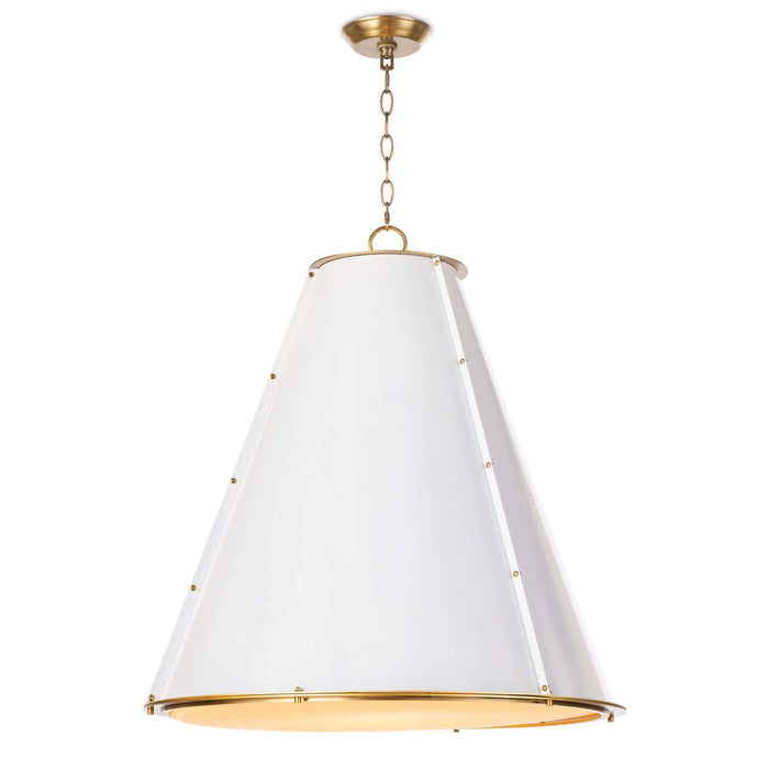 Regina Andrew French Maid Chandelier (Large)-Ceiling Fixtures-Regina Andrew-16-1191WT-ModLux_Living_furniture